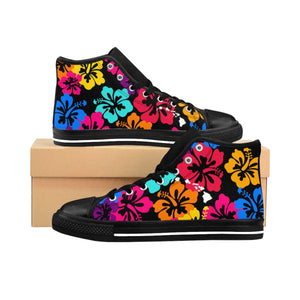 Open image in slideshow, Women's Aloha High-top Sneakers