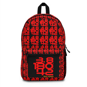 Open image in slideshow, Go Long Iron Print Backpack (Made in USA)