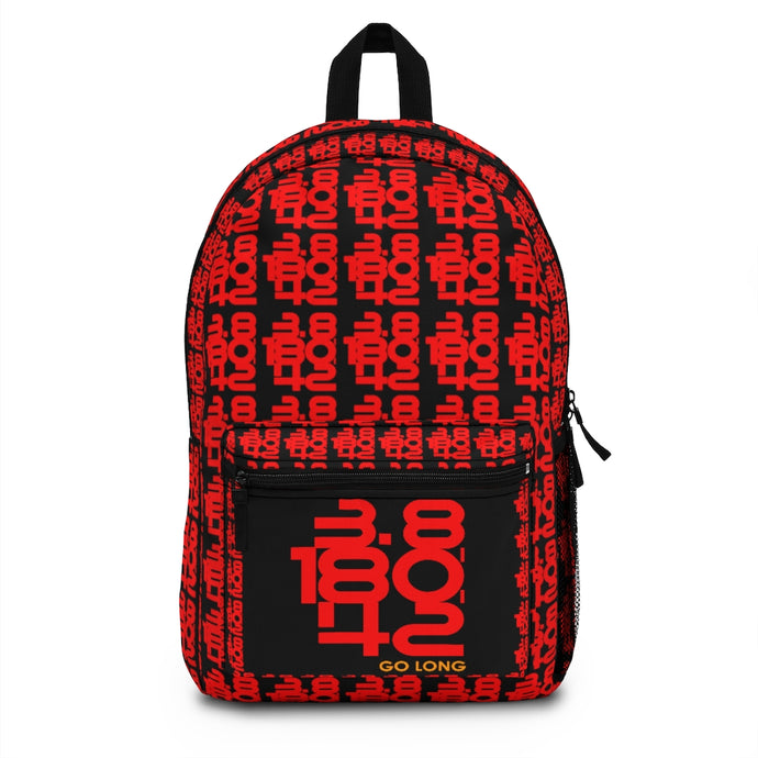Go Long Iron Print Backpack (Made in USA)