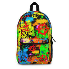 Load image into Gallery viewer, Peace & Anarchy Backpack (Made in USA)