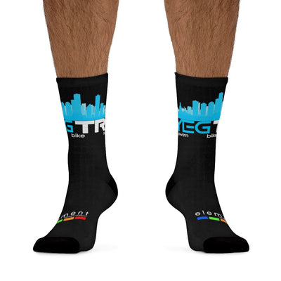 YEG Tri Socks (Black)