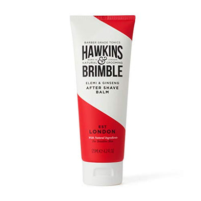 Hawkins & Brimble After Shave Balm for Men 125 ml - Moisturising Male Skin Protection | Post Shave Cream/Lotion
