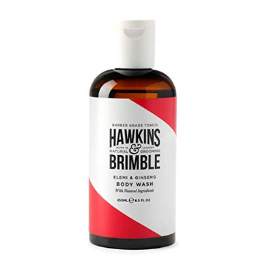 Hawkins & Brimble Mens Body Wash 250ml - Hydrating Naturally Fragranced Bodywash