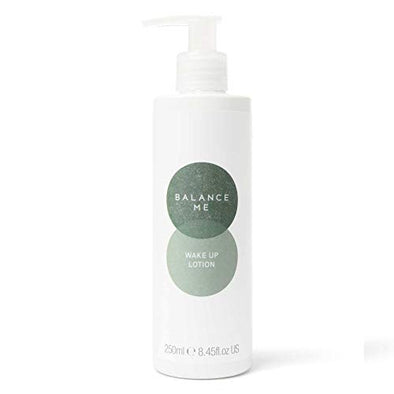Balance Me Wake Up Lotion | With Shea Butter & Aloe Vera | Soothing Hand Cream | Calming & Hydrating | For Sensitive Skin | 100% Natural Body Lotion | Vegan Friendly & Cruelty Free | Made in the UK |