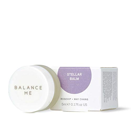 Balance Me Stellar Balm – Multi-Purpose Balm for Lips, Body, Hands & Feet - Lip Balm – Antioxidant Rich – For All Skin Types –Natural & Cruelty Free – Made In UK – 5ml 1BMS26-5