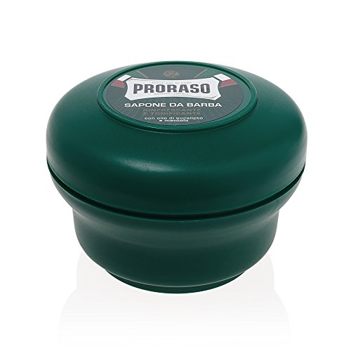 Proraso Shaving Soap in a Bowl, Green, 150ml