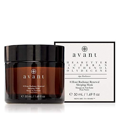 Avant - Sleeping Mask - Helps Nourish, Reduce Signs of Ageing & Revitalises Skin - 8 hour Radiance Renewal Sleeping Mask - 1x 50ml