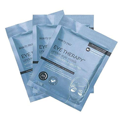 BeautyPro Trio Pack EYE THERAPY Anti-Ageing Collagen Under Eye Mask With Green Tea Extract (3 x 3.5g) X3 | under eye patches |beauty mask |beauty eye patches