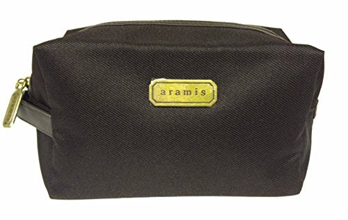 Aramis Mens Toiletry Wash Bag Travel Bag Brown