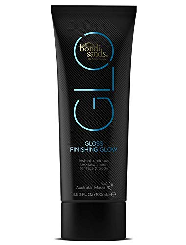Bondi Sands GLO Gloss Finishing Glow | High Shine Wash-Off Formula for Face and Body Instantly Gives Skin a Luminous Bronzed Sheen, Transfer and Water-Resistant, Vegan + Cruelty Free | 100 mL/3.52 Oz