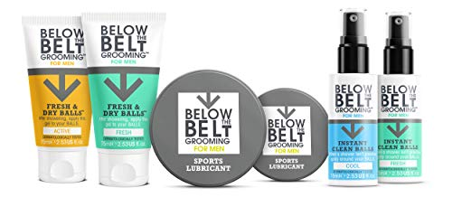 Below The Belt Grooming Sports Lubricant - Anti Chafing Chamois Cream 100ml