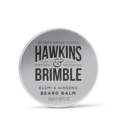 Hawkins & Brimble Beard Balm 50ml - Smooths, Softens & Conditions Beards Tash