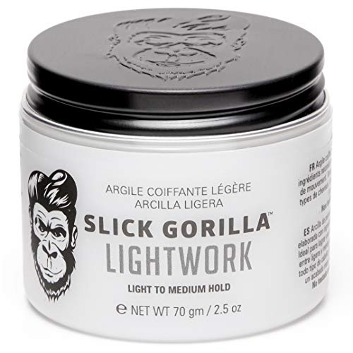 Slick Gorilla Lightwork Hair Styling Clay 70g