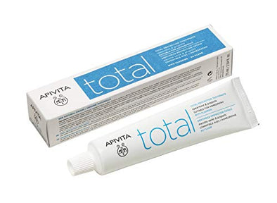 Apivita Natural Dental Care Total Protection Toothpaste 75 ml with propolis & spearmint