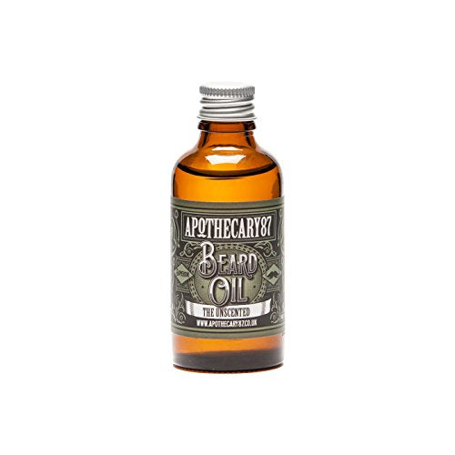 Apothecary 87 - The Unscented Beard Oil (Large 50ml)