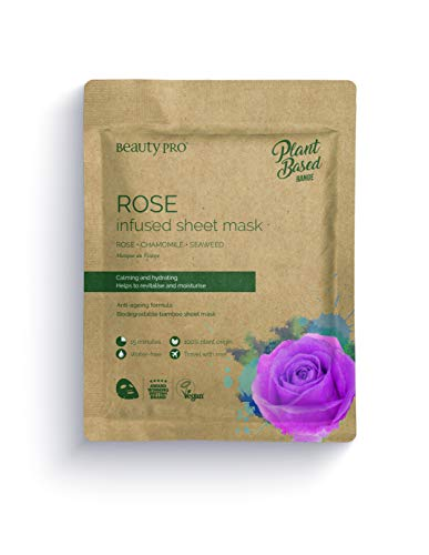 BeautyPro ROSE Infused Sheet Face Mask
