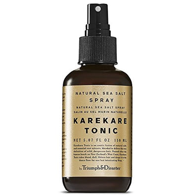 Triumph & Disaster KareKare All Natural Sea Salt Hair Tonic 150ml – Non-Sticky Instant Beach Hair + Added Scalp & Hair Protection