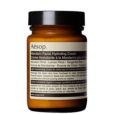 Aesop Mandarin Facial Hydrating Cream 120ml Moisturising Face Products With Deep Aromatherapy For A Natural Beauty Essential