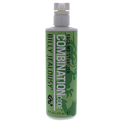 Combination Code Face Moisturizer by Billy Jealousy for Men - 16 oz Moisturizer