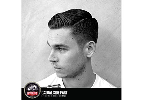 Uppercut Matt Pomade, Deluxe. Medium Hold, No Shine. Mens Hair Pomade 100 g