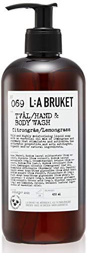 L: A Bruket No. 69 Liquid Soap Lemongrass, 450 ml