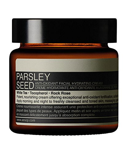 AESOP PARSLEY SEED ANTI-OXIDANT FACIAL HYDRATING CREAM 60ML