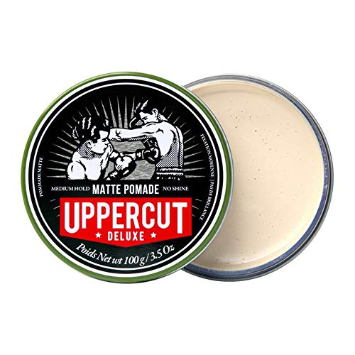 UpperCut Matte Pomade 100g & Salt Spray 150ml Gift Set. Medium Hold & No Shine.