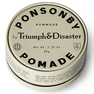 Triumph & Disaster Ponsonby Pomade 95g -Medium Hold Non-Greasy High-Shine Petroleum-Free Hair Pomade with Nourishing Dragon͛s Blood, Harakeke, and Argan Oil