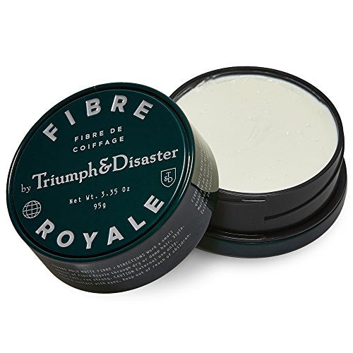 Triumph & Disaster - Fibre Royale 95g Styling Hair Paste - Premium Non-Volumising Styling Hair Paste with Beeswax Argan Oil & Kawakawa – Unisex Natural Strong Hold for Men and Women