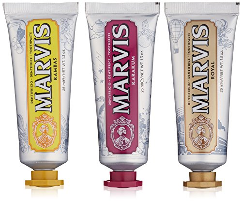 Marvis Toothpaste Wonders of the World Set