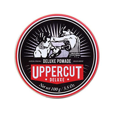 Uppercut Deluxe Deluxe Pomade, Strong Hold, High Shine 100g