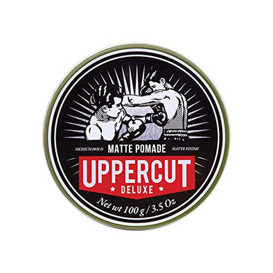 Uppercut Deluxe Matte Pomade, Medium Hold, No Shine 100g