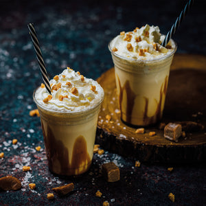 Salted Caramel Fudge Frappe