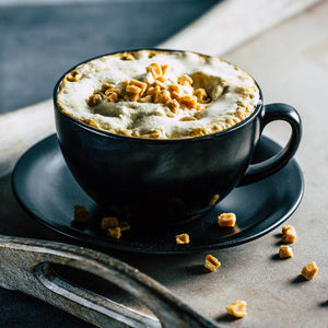 Salted Caramel Fudge Latte