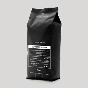 COMING SOON: Coffee Society Fairtrade Whole Bean 1kg