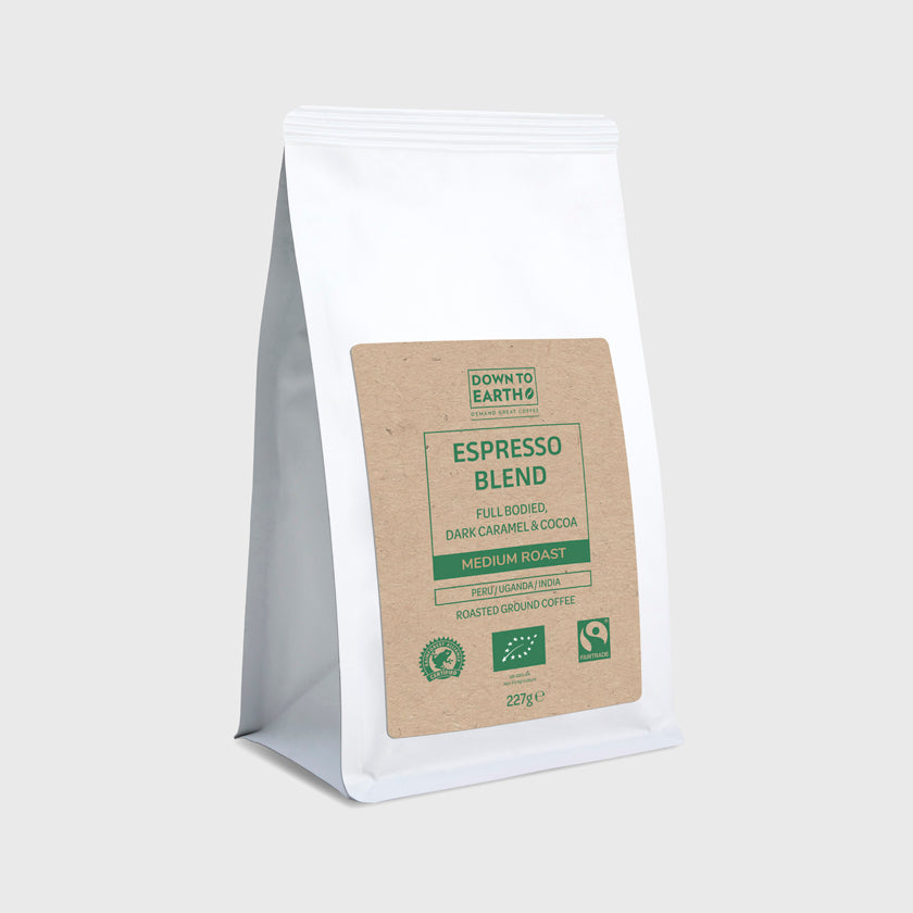 Down to Earth Wholebean Triple Certified 227g