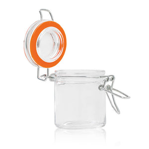 Flip-Top Glass Jars 12