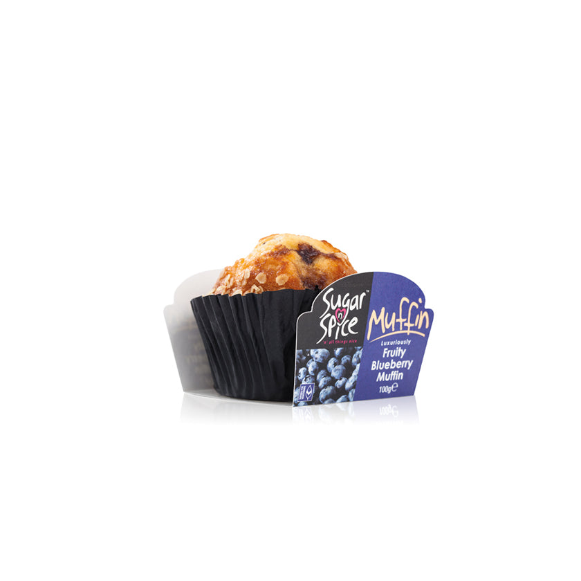 Sugar N Spice Blueberry Muffin