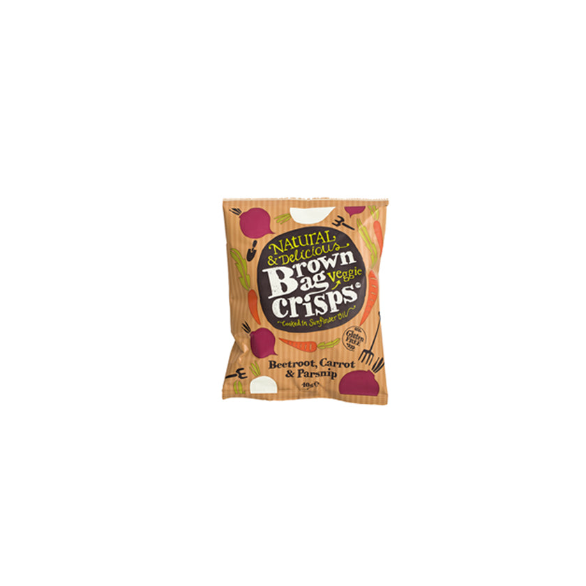 Brown Bag Vegetable Crisps (15 pack)