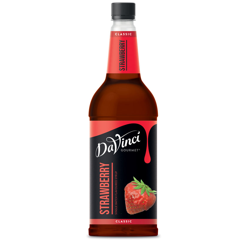 DaVinci Strawberry Syrup 1Litre