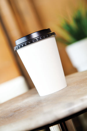 White Single Wall Cups 8oz