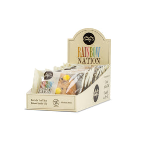 Gluten Free Rainbow Nation Cookie (20 pack) *BBE 18/08/2020* SHORT SHELF LIFE