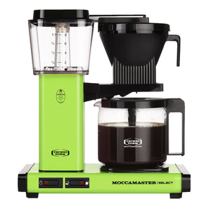 Moccamaster KBG Select Filter machine - Fresh Green (with glass flask)