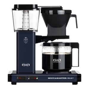 Moccamaster KBG Select Filter machine - Midnight Blue (with glass flask)
