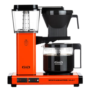 Moccamaster KBG Select Filter machine - Orange (with glass flask)