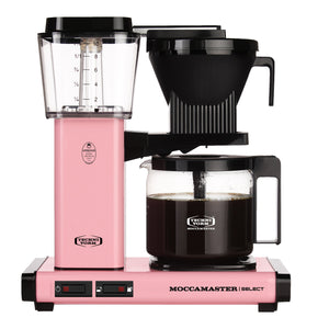 Moccamaster KBG Select Filter machine - Pink (with glass flask)