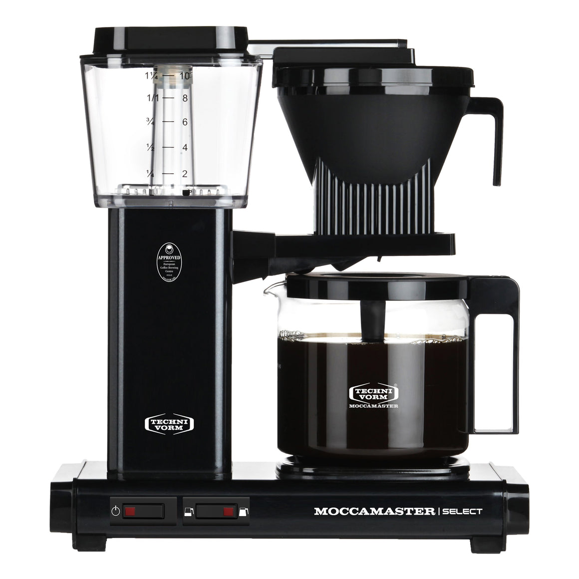 Moccamaster KBG Select Filter Machine - Black (with glass flask)
