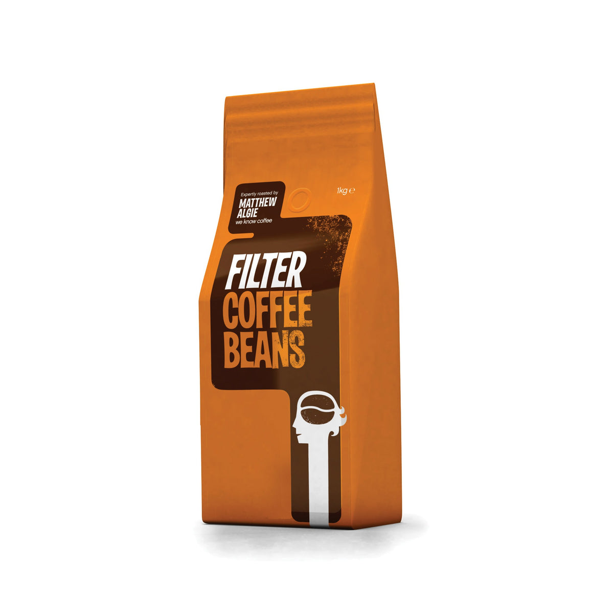 Matthew Algie - Fairtrade Crema Wholebean Filter Coffee (1kg)