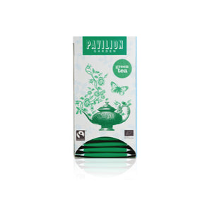 Pavilion Garden Fairtrade Organic Green Tea