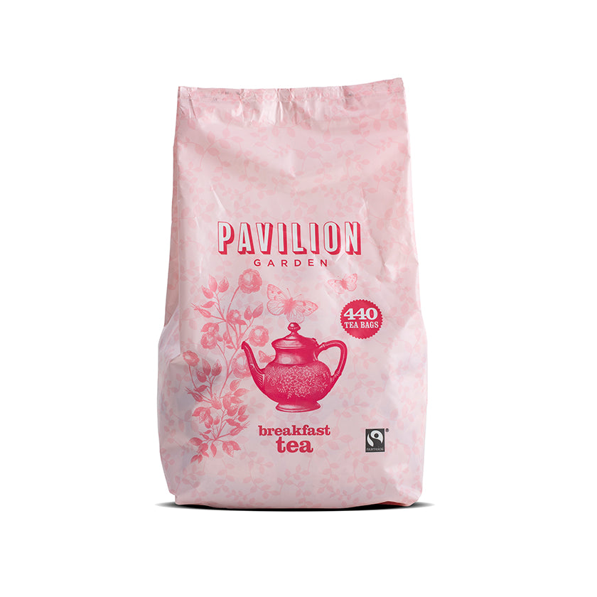 Pavilion Garden Fairtrade Breakfast Tea Bags 3 x 440
